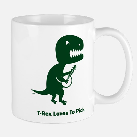 T-Rex Loves To Pick Mug