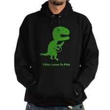 T-Rex Loves To Pick Hoodie