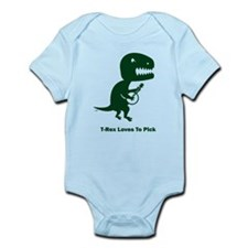 T-Rex Loves To Pick Infant Bodysuit