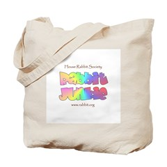 Rabbit Junkie Tote Bag