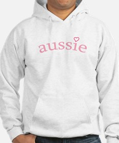 """Aussie with Heart"" Hoodie"