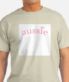 """Aussie with Heart"" T-Shirt"