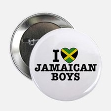 I Love Jamaican Boys Button