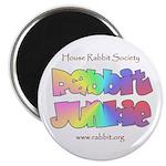 Rabbit Junkie Magnet