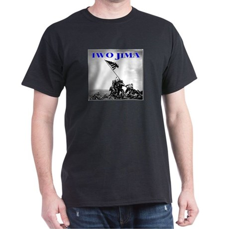 Flag Raising Iwo Jima Dark T-Shirt