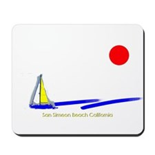 San Simeon Mousepad