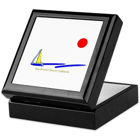 San Simeon Keepsake Box