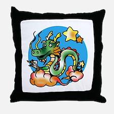Dragon Cartoon Throw Pillow