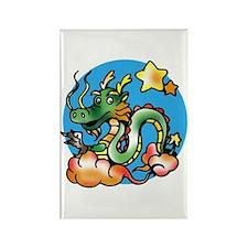 Dragon Cartoon Rectangle Magnet