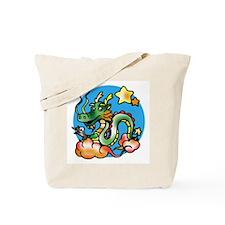 Dragon Cartoon Tote Bag
