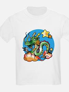 Dragon Cartoon Kids T-Shirt