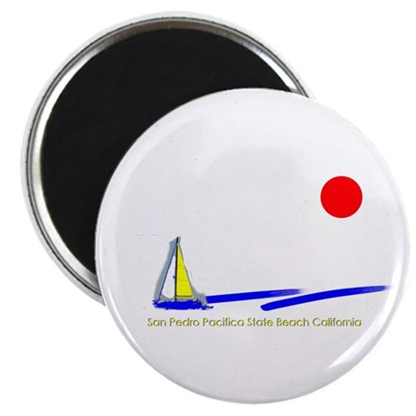 """San Pedro Pacifica 2.25"""" Magnet (100 pack)"""
