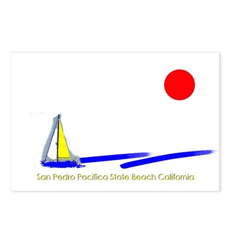 San Pedro Pacifica Postcards (Package of 8)