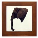 elephant5 Framed Tile