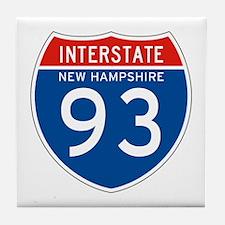 Interstate 93 - NH Tile Coaster