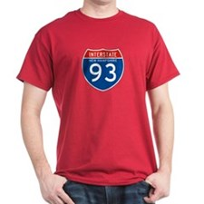 Interstate 93 - NH T-Shirt