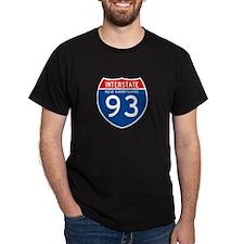 Interstate 93 - NH T-Shirt