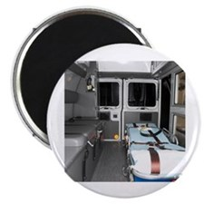 """Interiors of an ambulance 2.25"""" Magnet (10 pack)"""