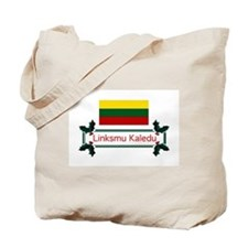 Lithuania Linksmu... Tote Bag