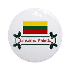 Lithuania Linksmu... Ornament