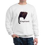 elephant5 Sweatshirt