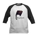 elephant5 Kids Baseball Jersey