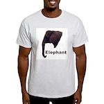 elephant5 Ash Grey T-Shirt