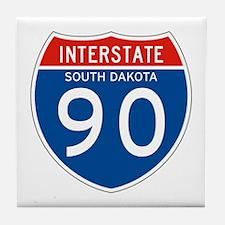 Interstate 90 - SD Tile Coaster