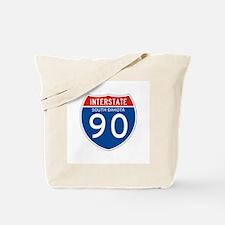 Interstate 90 - SD Tote Bag
