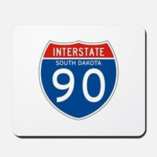 Interstate 90 - SD Mousepad