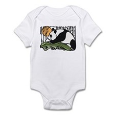 Sun and Panda Infant Bodysuit