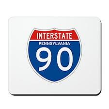 Interstate 90 - PA Mousepad