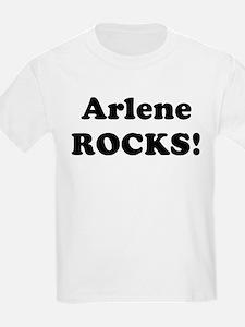 Arlene Rocks! Kids T-Shirt