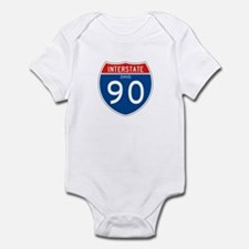 Interstate 90 - OH Infant Bodysuit