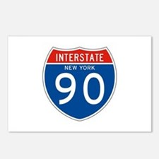 Interstate 90 - NY Postcards (Package of 8)