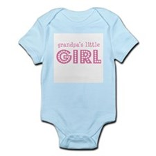 Grandpa's Little Girl Infant Bodysuit