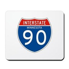 Interstate 90 - MN Mousepad
