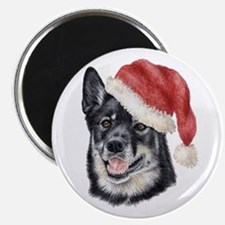 Christmas Lapponian Herder Magnet