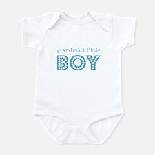 Grandmas' Little Boy Infant Bodysuit
