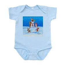 Snow Corgis III Infant Bodysuit