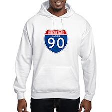 Interstate 90 - IL Hoodie Sweatshirt