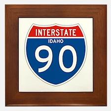 Interstate 90 - ID Framed Tile