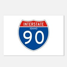 Interstate 90 - ID Postcards (Package of 8)