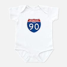 Interstate 90 - ID Infant Bodysuit