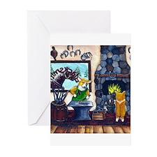 The Blacksmith Corgi Greeting Cards (Pk of 10)