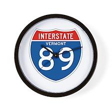 Interstate 89 - VT Wall Clock