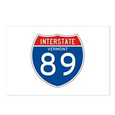 Interstate 89 - VT Postcards (Package of 8)