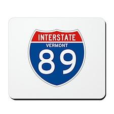 Interstate 89 - VT Mousepad
