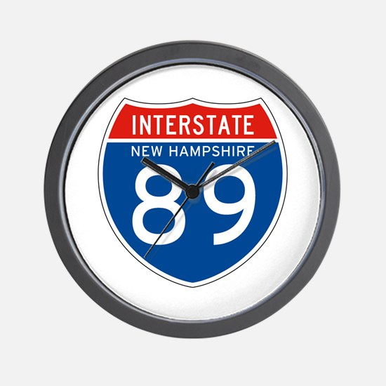 Interstate 89 - NH Wall Clock