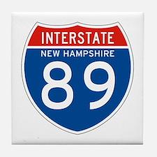 Interstate 89 - NH Tile Coaster